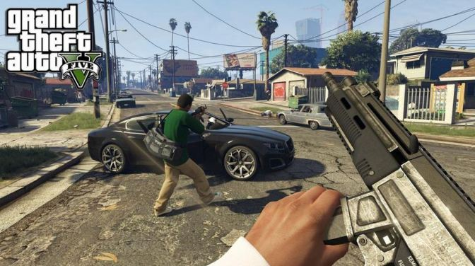 GTA 5 Will Have First Person