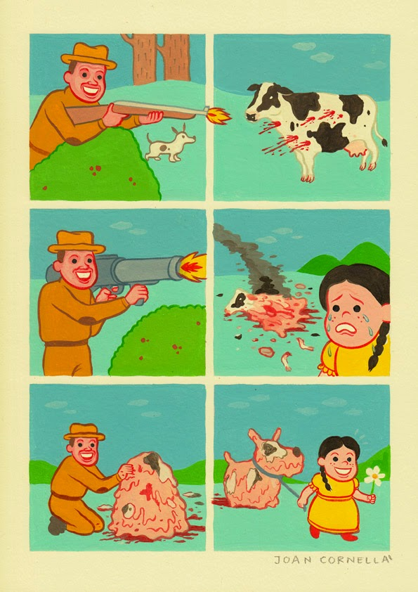 Crazy & Weird Comic By Joan Cornella