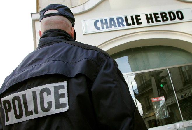 Charlie Hebdo Shooting (video)